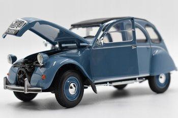 Welly, model samochodu Citroen 2cv Niebieski, 1:24-Welly
