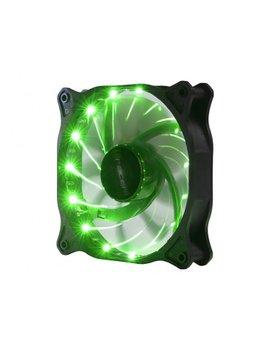 Wentylator LED 12cm Green-Tracer