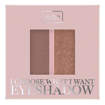 Wibo, I choose what I want, cienie do oczu w wersji duo 4 Gold Cappucino-Wibo