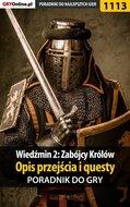 Wiedźmin 2: Zabójcy Królów - poradnik, opis ...