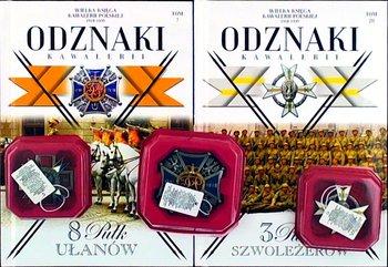 Wielka Księga Kawalerii Polskiej 1918-1939 Odznaki Kawalerii Pakiet Nr 15
