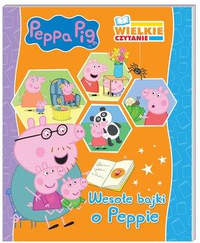 Wielkie czytanie. Wesołe bajki o Peppie. Peppa Pig-Opracowanie zbiorowe