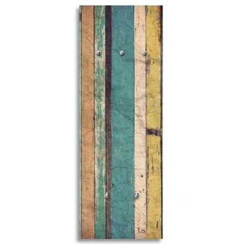 Wieszak FEEBY Kolorowe drewno, 30x90 cm-Feeby
