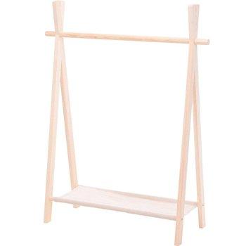 Wieszak na ubrania dla dzieci, 80 x 30 x 100 cm, drewniany-Home Styling Collection