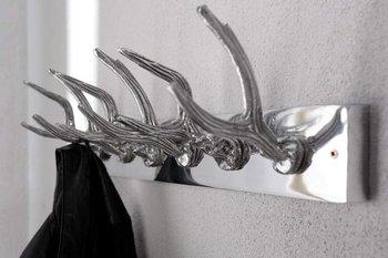 Wieszak ścienny Jeleń poroże rogi aluminiowy (Z22529)-INTERIOR