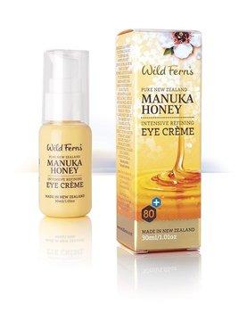 Wild Ferns, Manuka Honey, odmładzający krem pod oczy, 30 ml-Wild Ferns