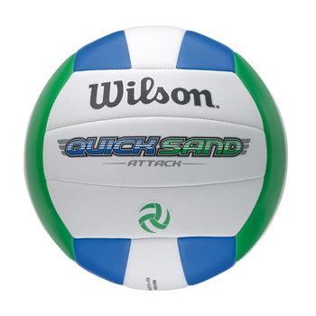 Wilson, Piłka siatkowa, Quicksand, niebiesko-zielona, rozmiar uniwersalny-Wilson