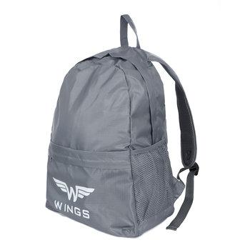 Wings, Plecak składany, szary-Wings
