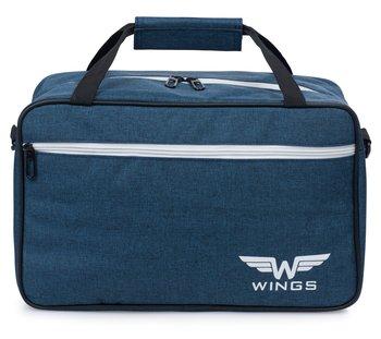 Wings, Torba podróżna, Blue, TB01-Wings