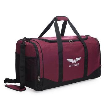 Wings, Torba podróżna, TB1002 S, bordowy, 34l-Wings