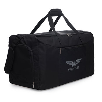 Wings, Torba podróżna, TB1003 M, czarny, 63x28x35 cm-Wings