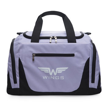 Wings, Torba podróżna, TB1005 M, fioletowy, 65x33x30 cm-Wings