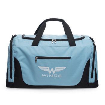 Wings, Torba podróżna, TB1005 M, niebieski, 65x33x30 cm-Wings
