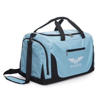 Wings, Torba podróżna, TB1005 S, niebieski, 50x30x28 cm-Wings
