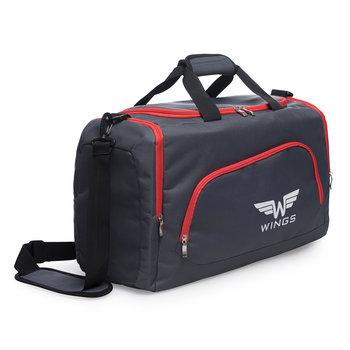 Wings, Torba podróżna, TB1006 M, czarny, 65x30x35 cm-Wings