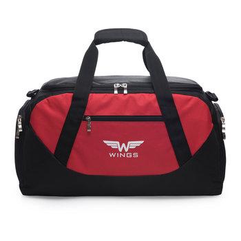 Wings, Torba podróżna, TB1007, czerwony, 22l-Wings