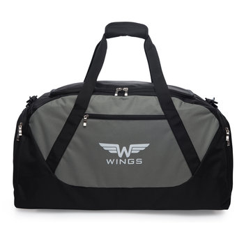 Wings, Torba podróżna TB1007, szary, 88l-Wings