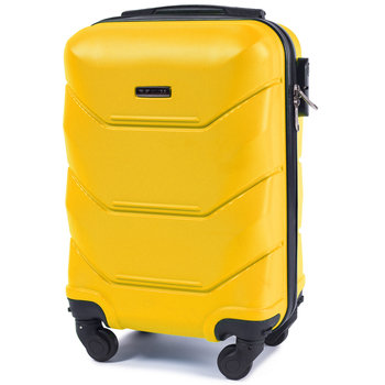 Wings, walizka kabinowa Peacock, Yellow, rozmiar XS-Wings