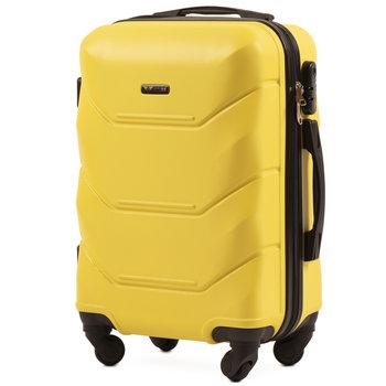 Wings, Walizka kabinowa, żółta, rozmiar S-Wings