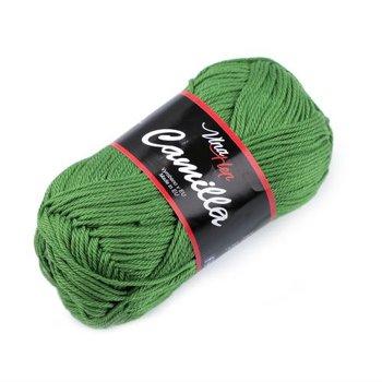 Włóczka bawełniana, Camilla, zielona, 50 g-CreativeHobby
