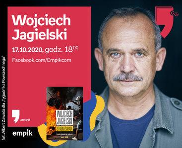 Wojciech Jagielski – Spotkanie   Wirtualne Targi Książki. Apostrof