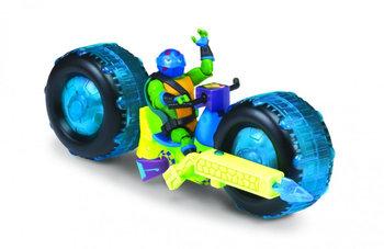 Wojownicze Żółwie Ninja, figurka Motocykl Shell Hog Leonardo-Wojownicze Żółwie Ninja