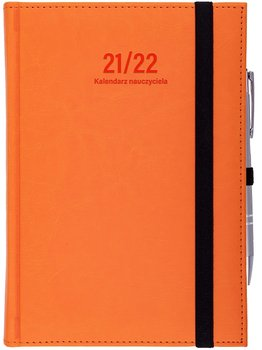 Wokół nas, kalendarz nauczyciela 2021/2022 B6D Nebraska, pomarańcz