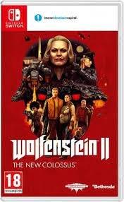 Wolfenstein II: The New Colossus SWITCH-Bethesda