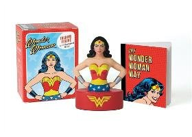Wonder Woman Talking Figure and Illustrated Book - Running Press