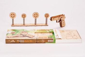 Wood Trick, puzzle mechaniczne Strzelnica-Wood Trick
