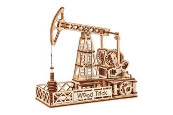 WoodTrick, puzzle mechaniczne 3D Szyb naftowy-Wood Trick