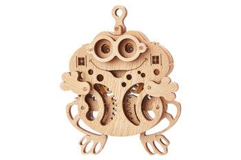 WoodTrick, puzzle mechaniczne Żabka-Wood Trick