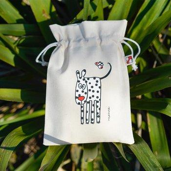 Woreczek bawełniany na drobiazgi - Dalmatyńczyk- mały 15x22 cm-Ilustris