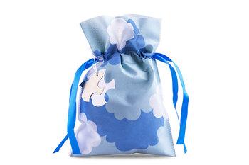 Worek ozdobny CUMULI, błękitny, 30x45 cm-Konsimo