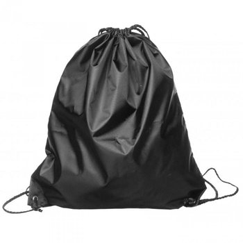 Worek sportowy SAGAFORM Picnic, czarny, 42x36,5 cm