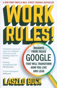 Work Rules!-Bock Laszlo