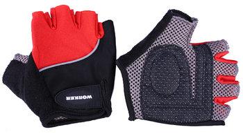 Worker, Rękawice rowerowe, S900, czerwony, rozmiar XL-WORKER
