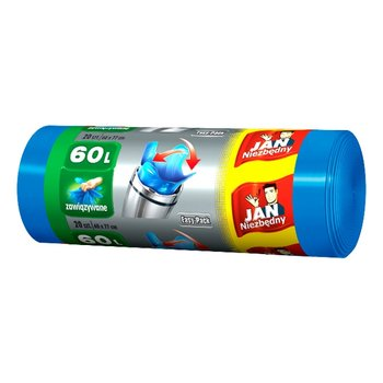 Worki HD JAN NIEZBĘDNY Easy-pack, 60 l, 20 szt.   -Sarantis