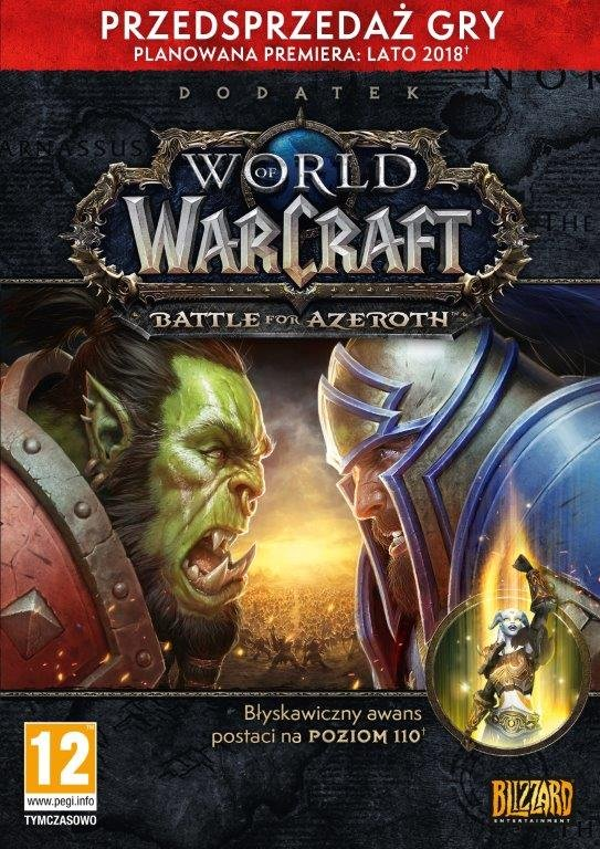World Of Warcraft Battle For Azeroth Pc Blizzard