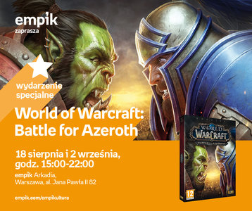 World of Warcraft: Battle for Azeroth | Empik Arkadia