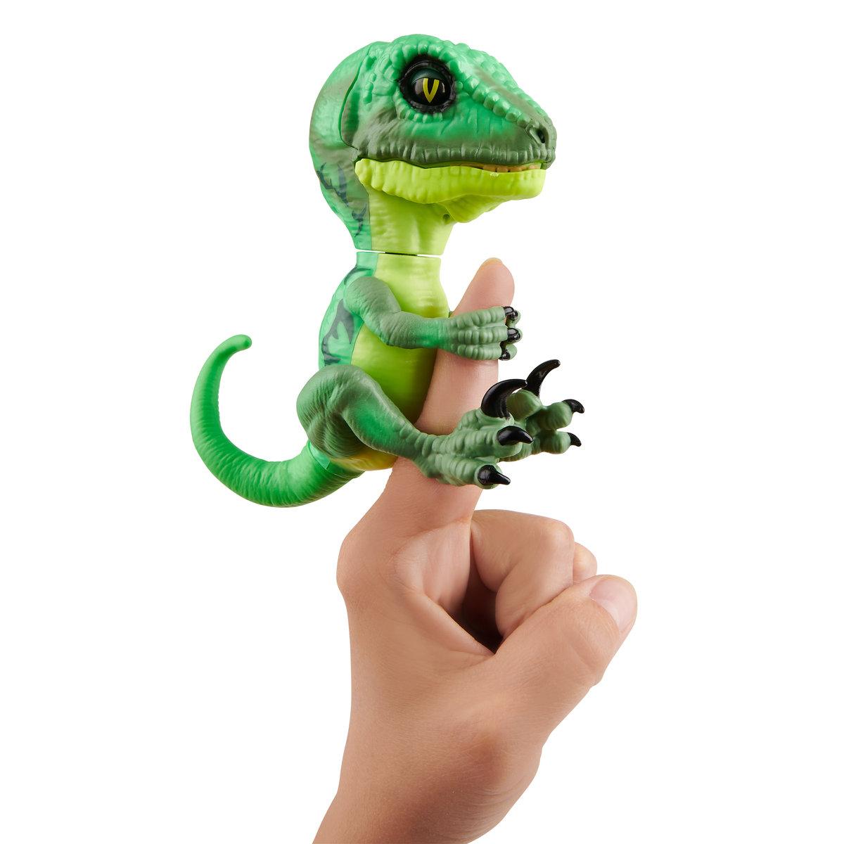 WowWee, Fingerlings Untamed, figurka interaktywna Raptor Hazard - WowWee