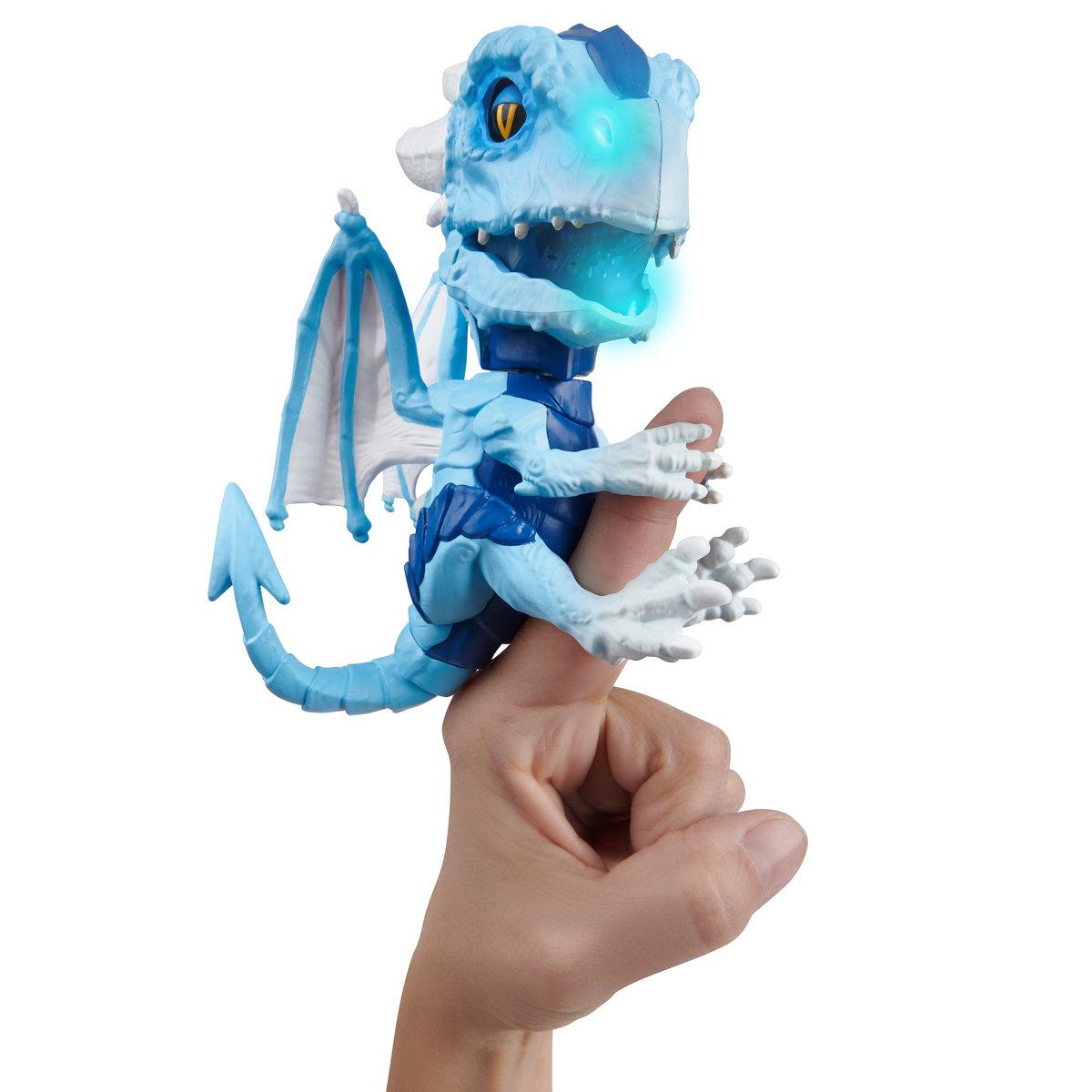 WowWee, Fingerlings Untamed, figurka interaktywna Smok Freezer - WowWee