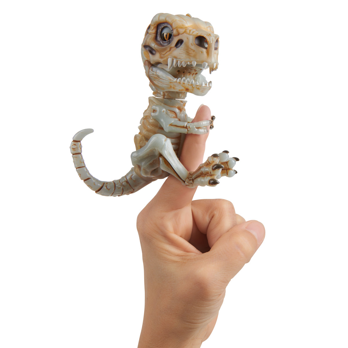 WowWee, Fingerlings Untamed, figurka interaktywna Szkielet T-Rex Doom - WowWee