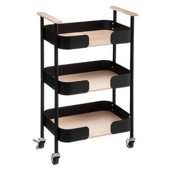 Wózek kuchenny BLACKWOOD, 3 poziomy-5five Simple Smart