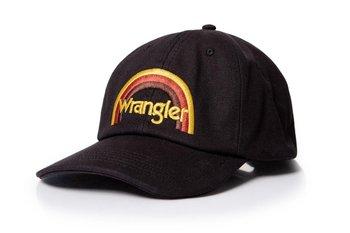Wrangler, Czapka męska, Rainbow Cap Black W0M19U501, rozmiar uniwersalny-Wrangler
