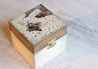 Wspomnień czar - czyli jak wykonać szkatułkę w stylu retro
