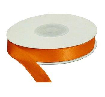 Wstążka pomarańcz, 25m dł x 12mm szer, CRAFT-FUN - pomarańczowy-Titanum