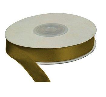 Wstążka złota, 25m dł x 12mm szer, CRAFT-FUN - złoty-Titanum