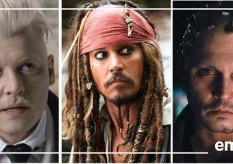 Wszystkie twarze Johnny'ego Deppa