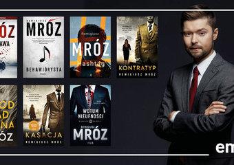 Wybierz: Która książka Remigiusza Mroza jest najlepsza?